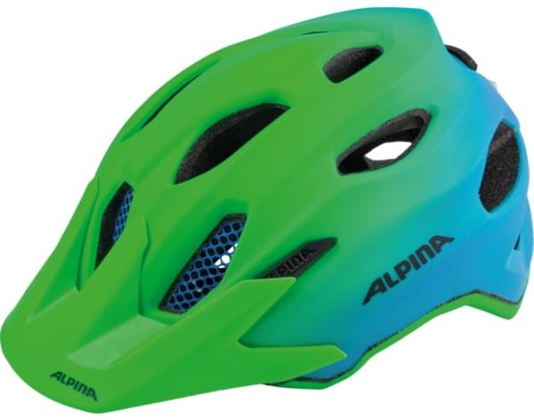 Alpina Carapax Jr. Flash - green/blue 51-56