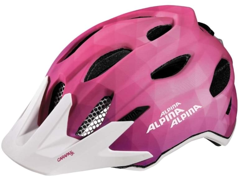 Alpina Carapax jr. Flash - pink-white 51-56