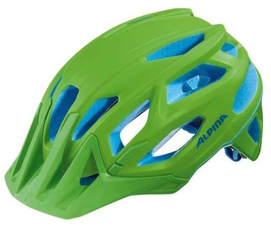 Alpina Garbanzo - neon green-blue 53-57