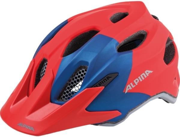 Alpina Carapax Jr. - red-blue 51-56