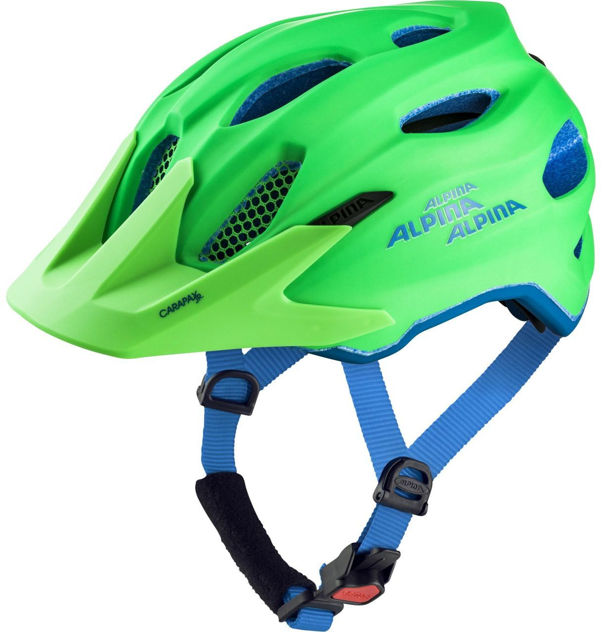 Alpina Carapax jr. - green-blue 51-56