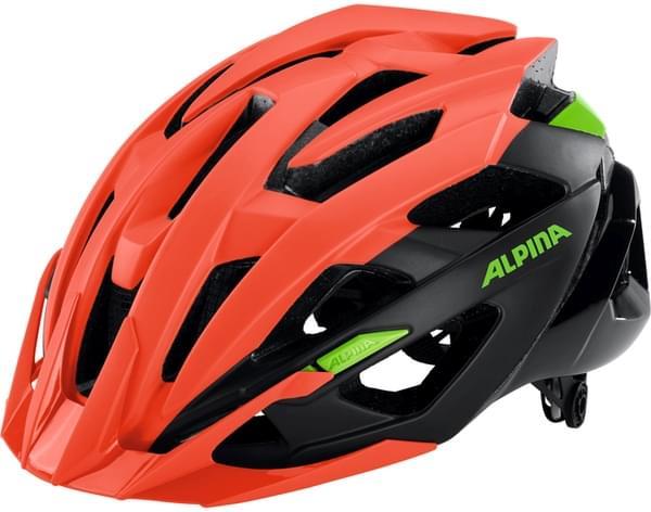 Alpina Valparola XC - neon red-black-green 58-63