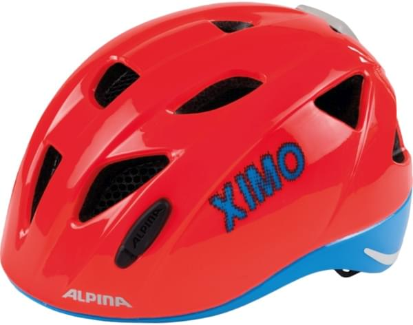 Alpina XIMO Flash - neon red-blue 45-49