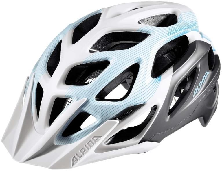 Cyklistická přilba Alpina Mythos 3.0 le - white-titanium-lightblue ... 834454d7950