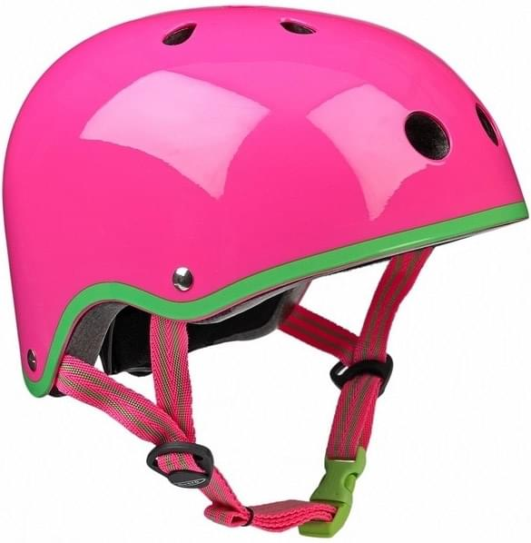 Přilba Micro Neon Pink 48-52