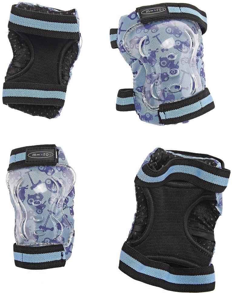 Chrániče kolen a loktů Micro - modré XS