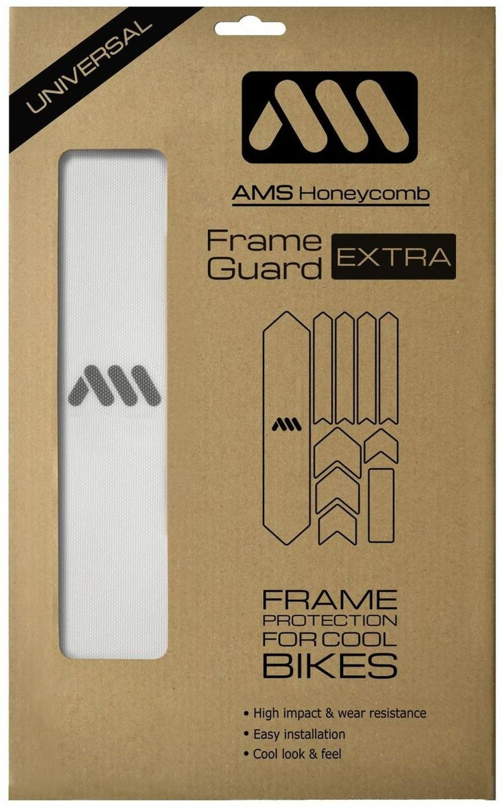 AMS Honeycomb Frame Guard Extra - clear uni