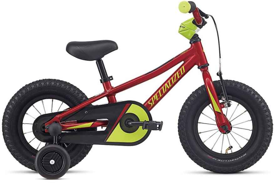 Specialized Riprock Coaster 12 - candy red/hyper green uni