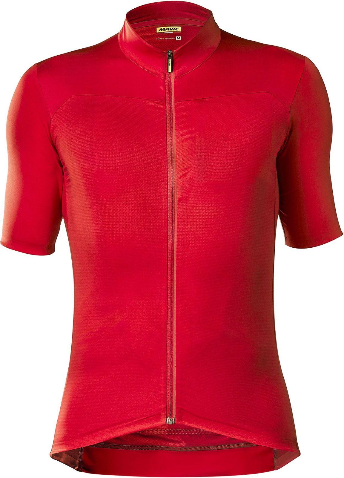Mavic Essential Jersey - Haute Red L