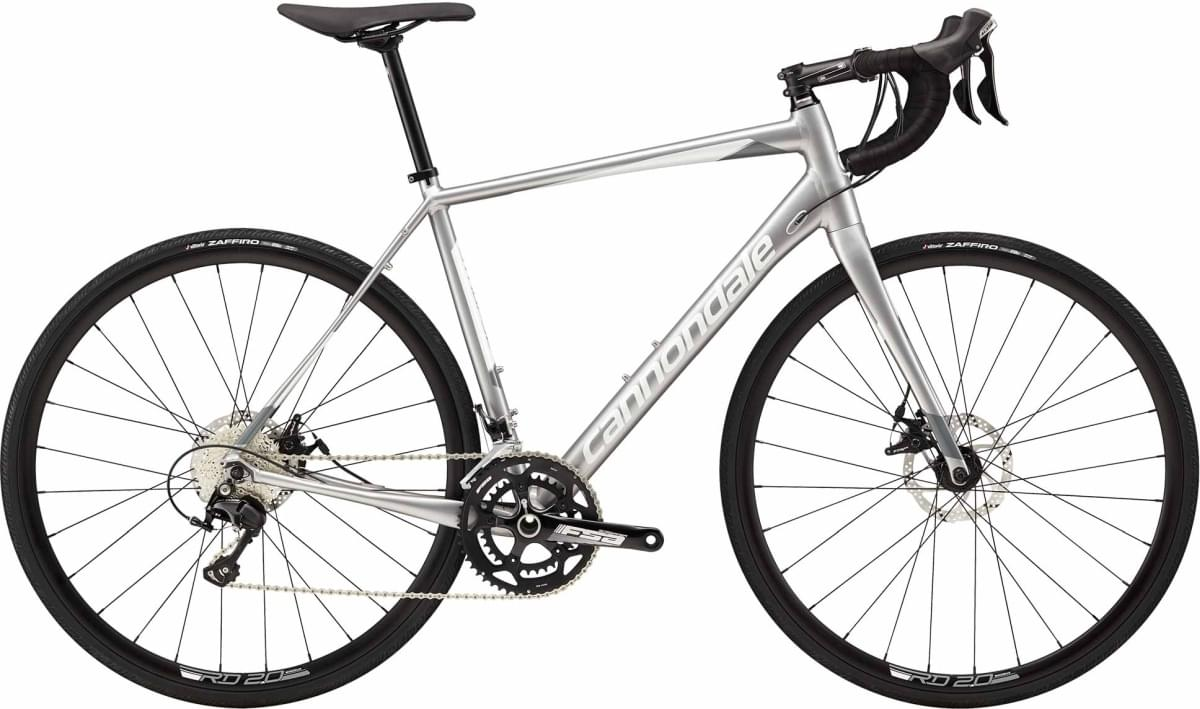 Cannondale Synapse Disc 105 - Ash Gray w/ Cashmere and Stealth Gray - Gloss (ASH) 58