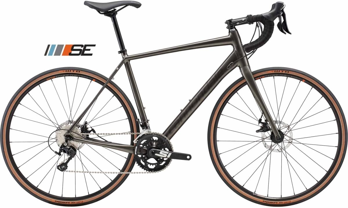 Cannondale Synapse Disc 105 SE - Anthracite w/ Transparent Black - Gloss (ANT) 56