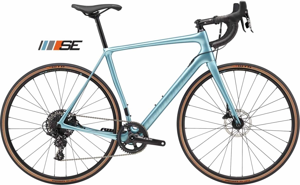 Cannondale Synapse Carbon Disc Apex 1 SE - Glacier Blue w/ Transparent Black - Gloss (GLB) 54