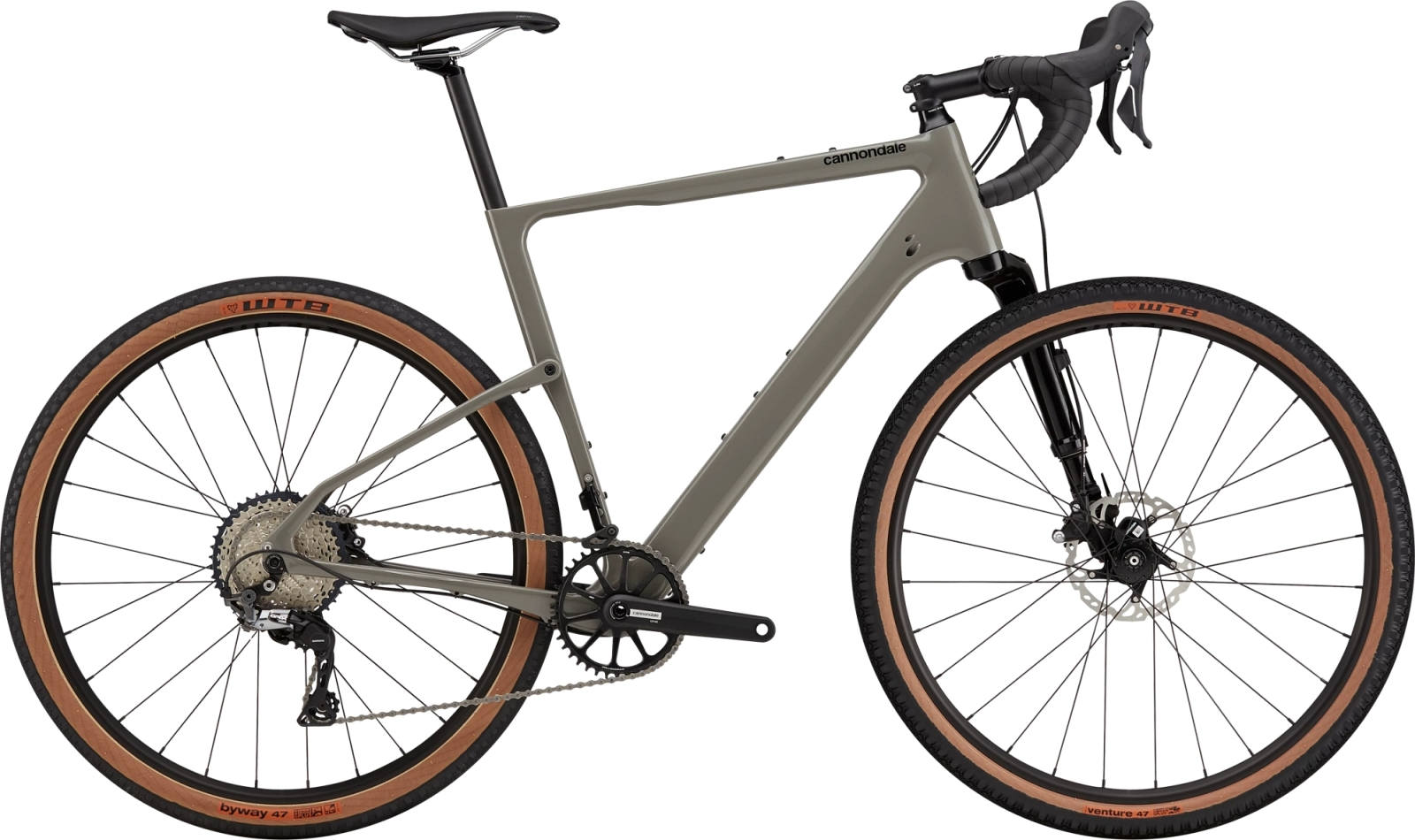 Cannondale Topstone Carbon Lefty 3 - Stealth Grey M