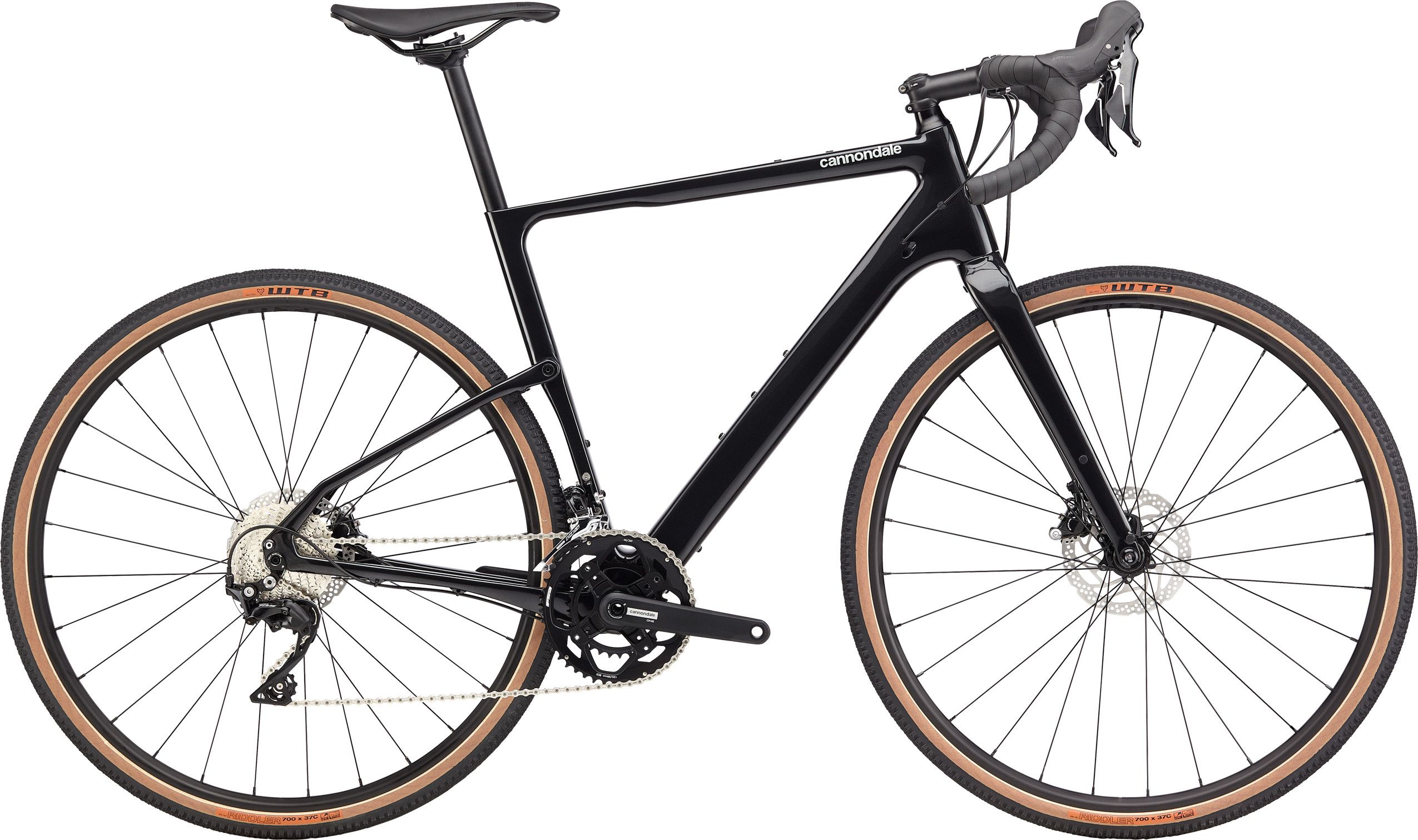 Cannondale Topstone Carbon 105 - Black Pearl XS