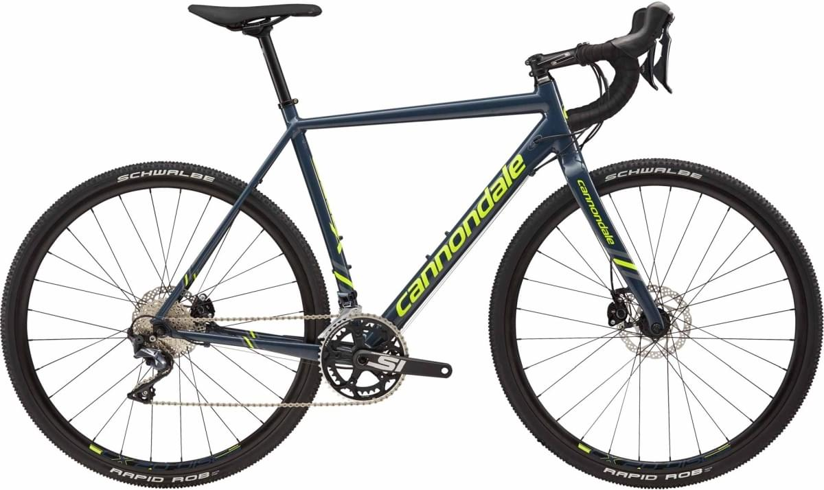Cannondale CAADX Ultegra - Slate w/ Stealth Gray and Volt - Gloss (SLA) 56
