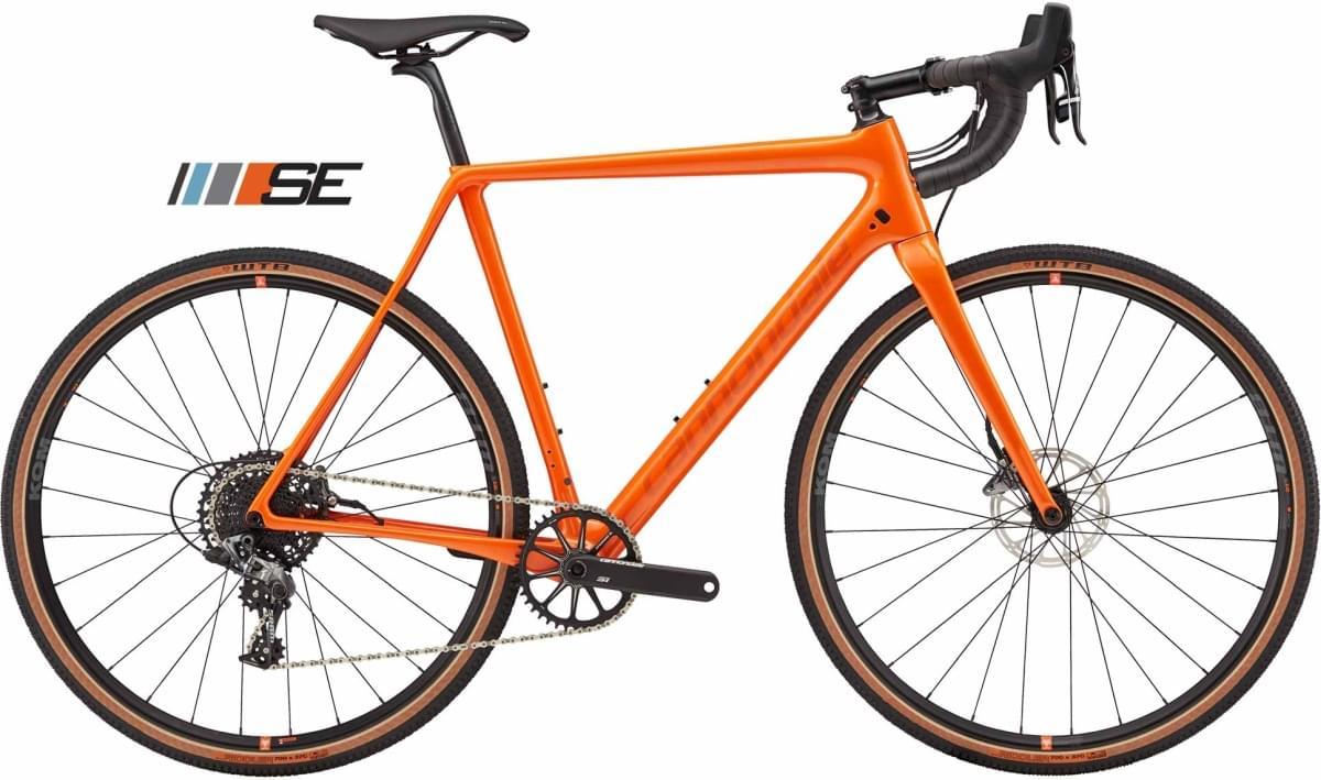 Cannondale SuperX Force 1 SE - Hazard Orange Metallic w/ Transparent Black - Gloss (ORG) 56