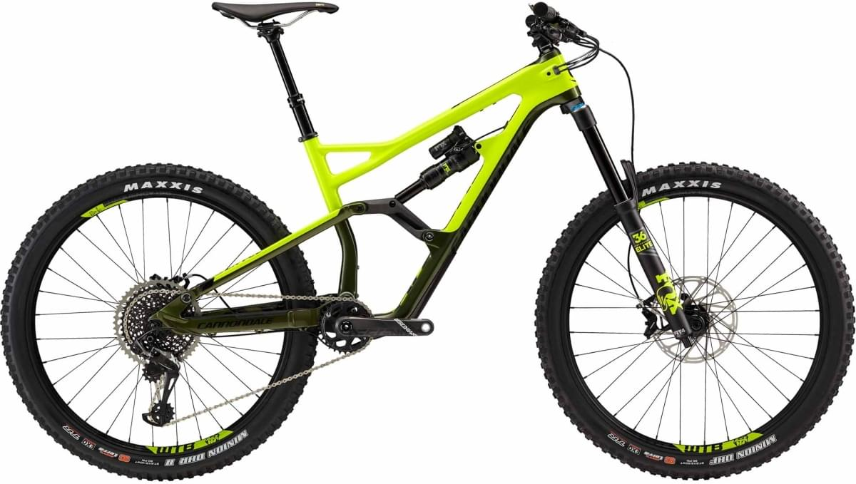 Cannondale Jekyll 2 - Volt w/ Military Green and Jet Black - Gloss (VLT) L