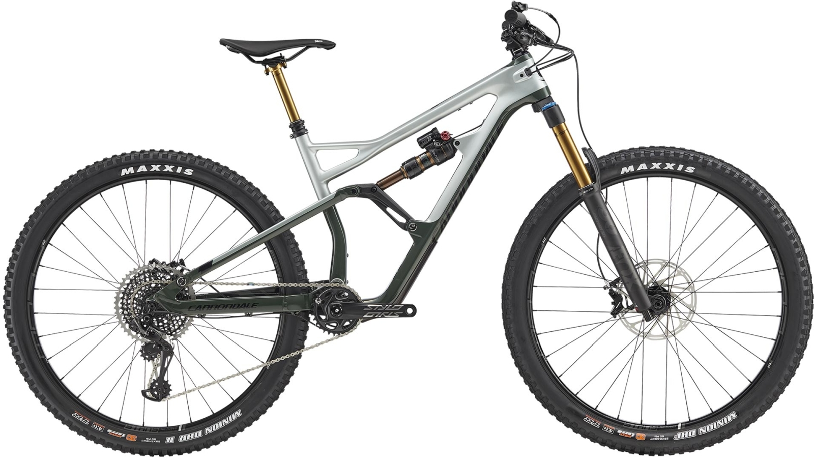 Cannondale Jekyll 29 1 - Sage Gray w/ Green Clay and Jet Black - Gloss (SGG) M