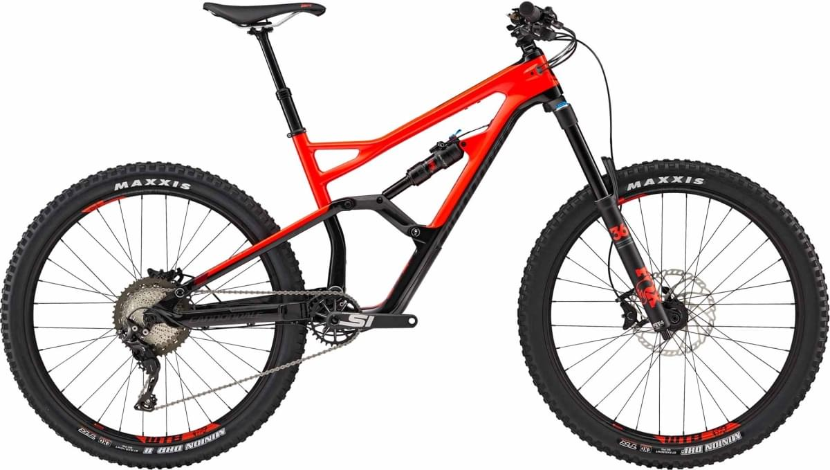 Cannondale Jekyll 3 - Acid Red w/ Jet Black, Oxblood and Nearly Black (ARD) M