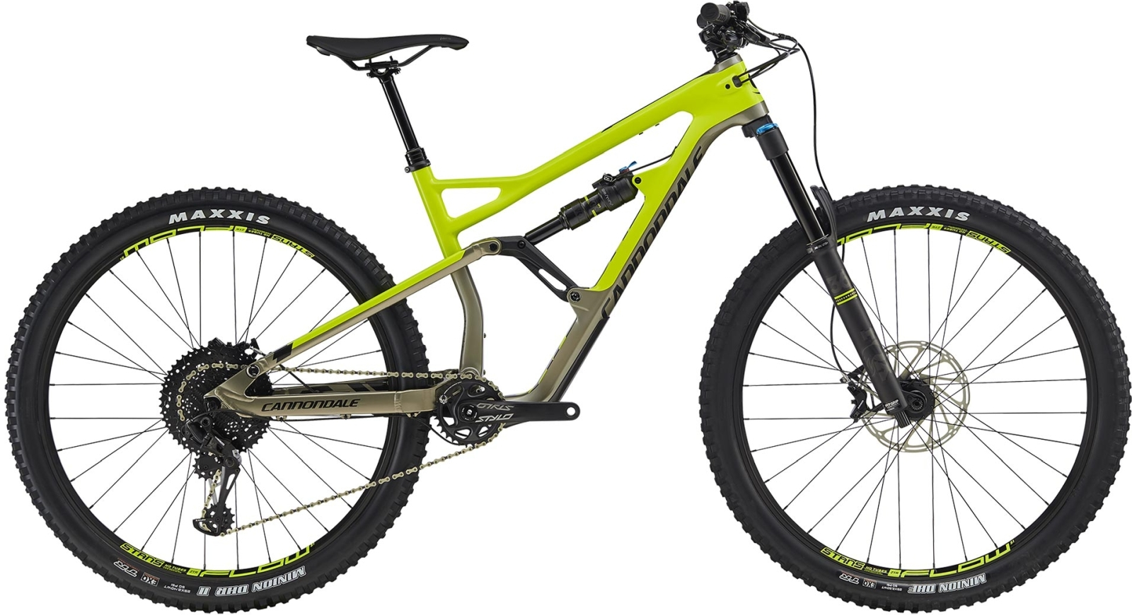 Cannondale Jekyll 29 3 - Volt w/ Meteor Gray and Black Pearl - Gloss (VLT) M