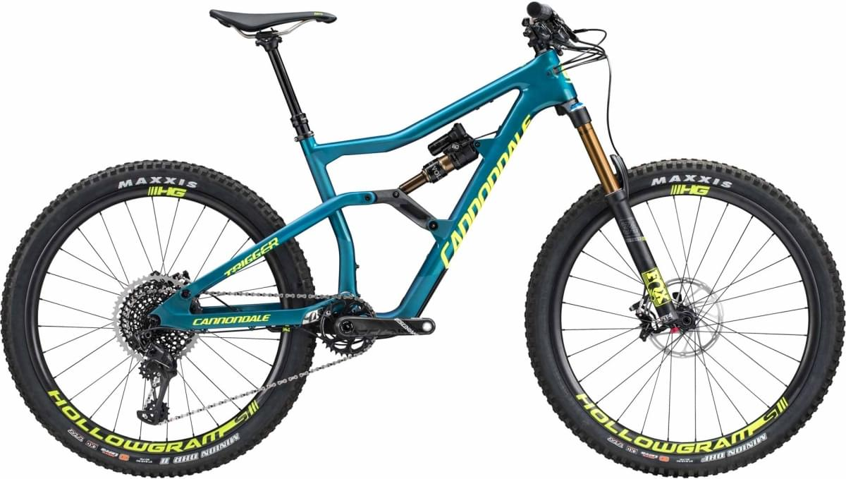Cannondale Trigger 1 - Deep Teal w/ Teal and Volt - Gloss (DTE) M