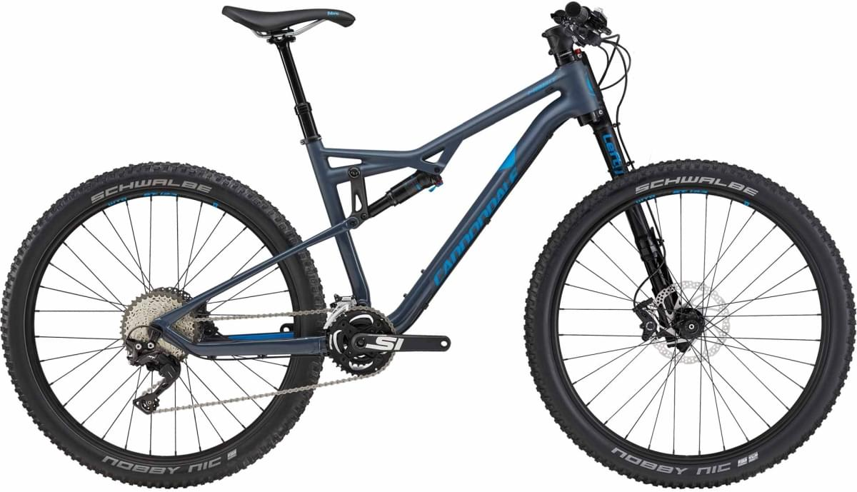 Cannondale Habit 3 - Matte Slate Blue w/Gloss Slate Blue and Spectrum Blue (SLA) M