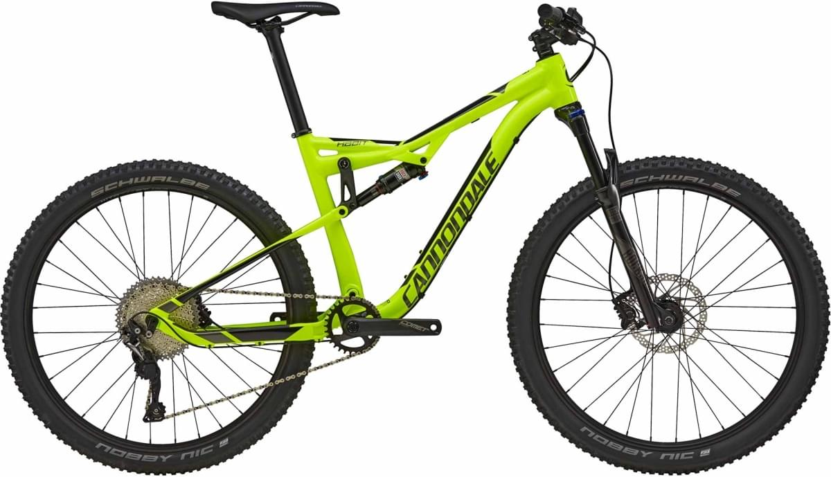 Cannondale Habit 5 - Volt w/ Charcoal Gray and Jet Black - Gloss (VLT) M