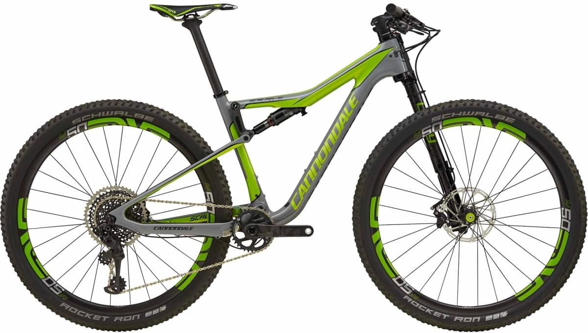 Cannondale Scalpel-Si Team - Stealth Gray w/ Jet Black and Acid Green - Gloss (SGY) M