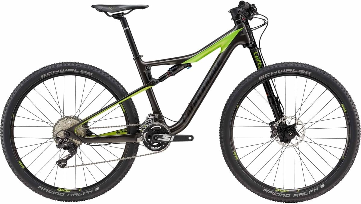 Cannondale Scalpel-Si Women's 2 - Anthracite w/ Acid Green and Nearly Black - Gloss (ANT) M