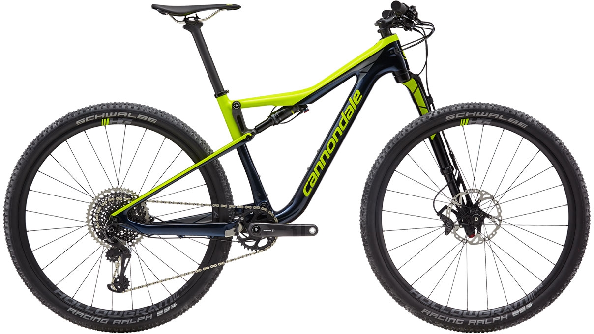 Cannondale Scalpel-Si Carbon 2 - Midnight w/ Volt and Stealth Gray - Gloss (MDN) M