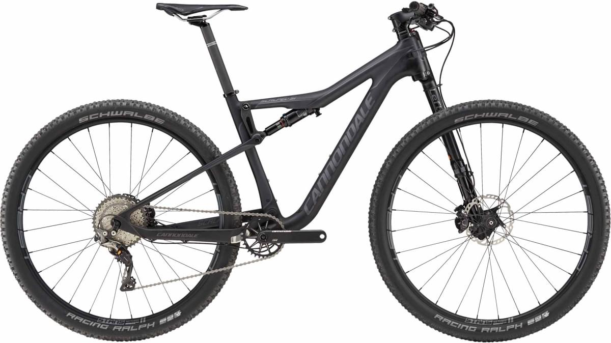 Cannondale Scalpel-Si Carbon 3 - Jet Black w/ Nearly Black and Charcoal Gray - Matte (BBQ) XL