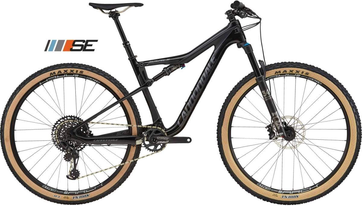 Cannondale Scalpel SE 2 - Jet Black w/ Charcoal Gray - Gloss/Matte (GRY) XL