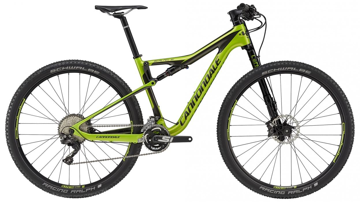 Cannondale Scalpel-Si Carbon 4 - Acid Green w/ Anthracite and Jet Black - Gloss (AGR) XL