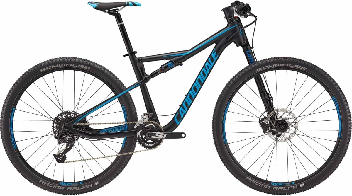 Cannondale Scalpel-Si 5 - Matte Jet Black w/ Gloss Jet Black and Ultra Blue - Matte (BLK) M