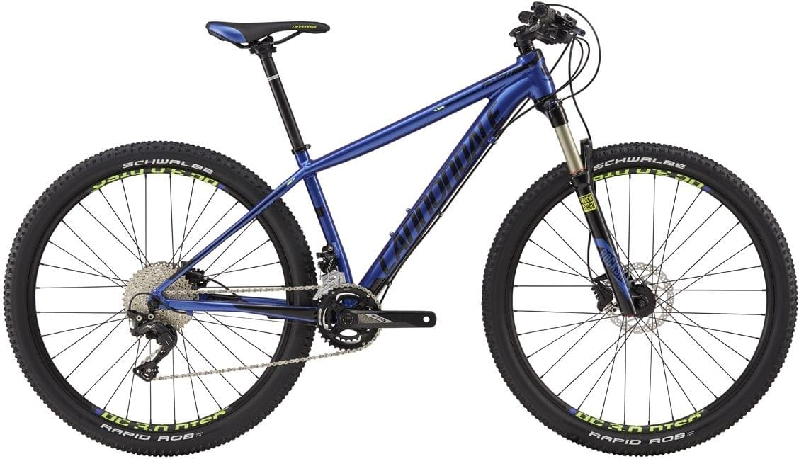 Cannondale F-Si Womens 1 - purple haze w/jet black and volt gloss S