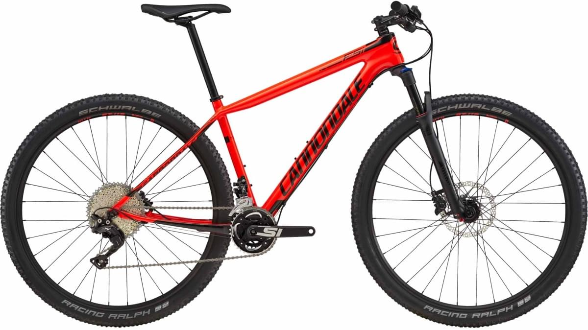 Cannondale F-Si Carbon 5 - Acid Red w/ Jet Black - Gloss (ARD) XL