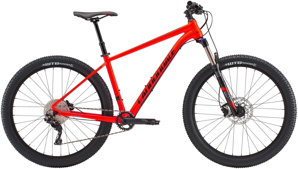 Cannondale Cujo 1 - Acid Red w/ Jet Black and Charcoal Gray - Gloss (ARD) M