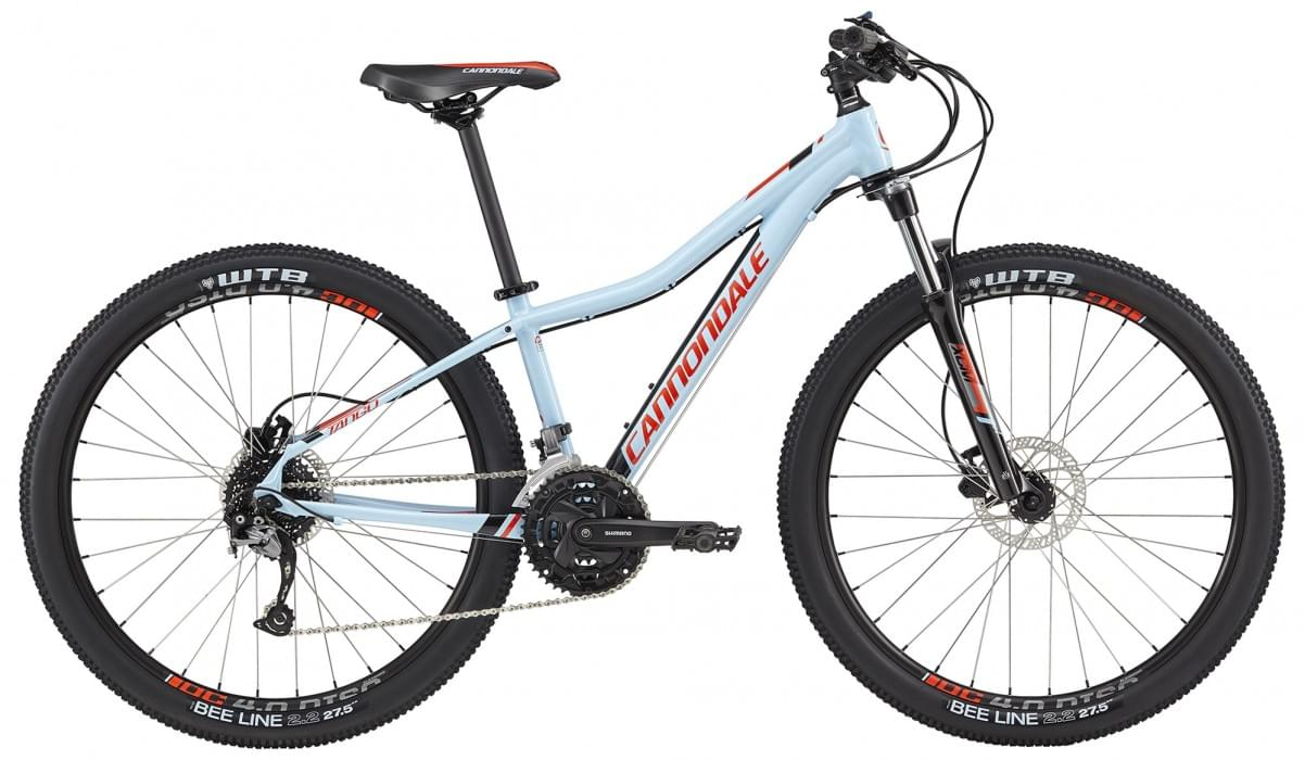 Cannondale Tango 27,5 2 - atmosphere blue w/jet black and acid red gloss M