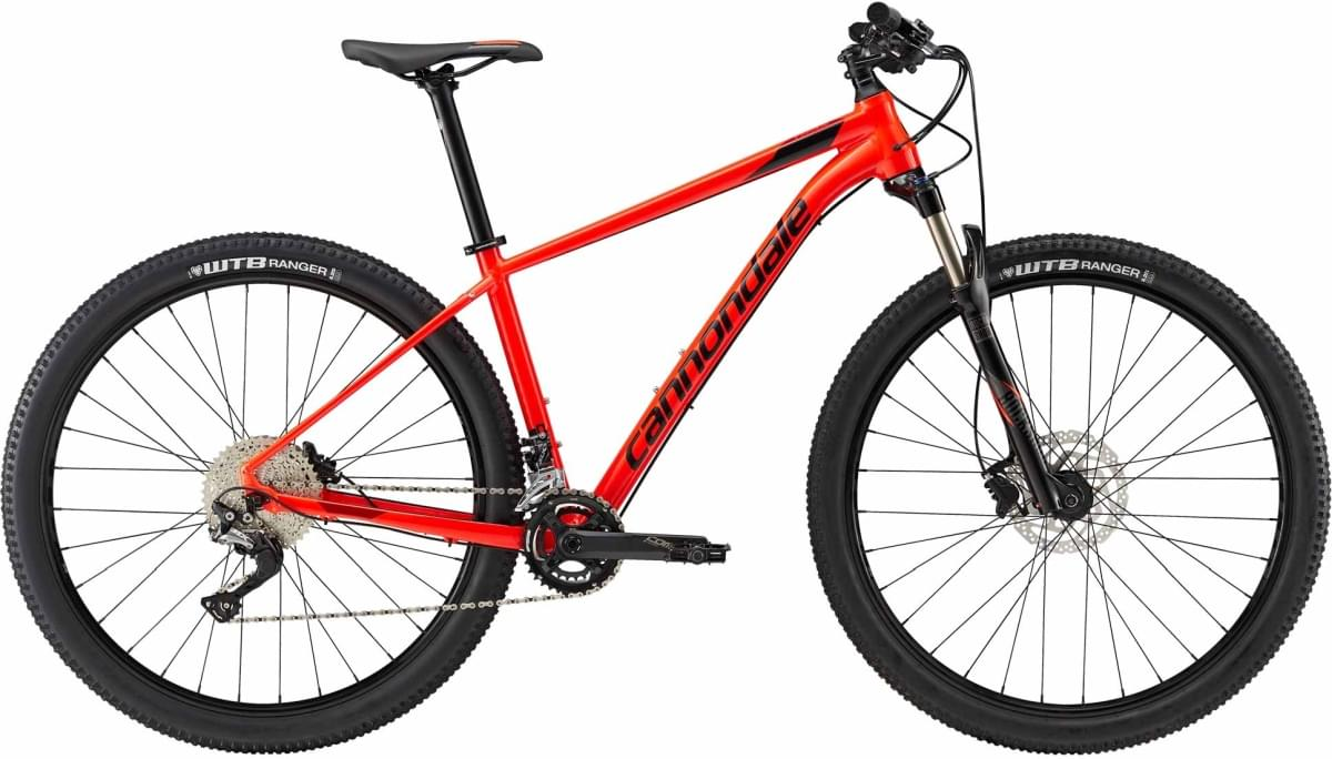 Cannondale Trail 3 - Acid Red w/ Jet Black and Fire Red - Gloss (ARD) M