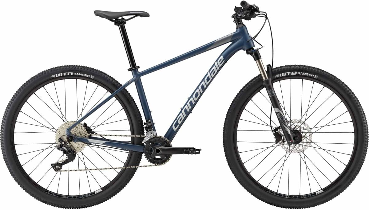 Cannondale Trail 4 - Slate Blue w/ Charcoal Gray and Fine Silver - Matte (SLA) M