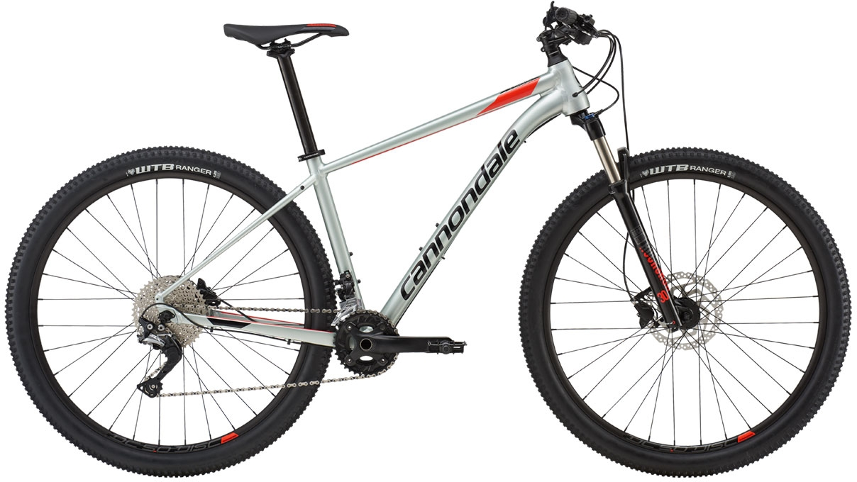 Cannondale Trail 4 - Sage Gray w/ Acid Red and Jet Black - Gloss (SGG) L