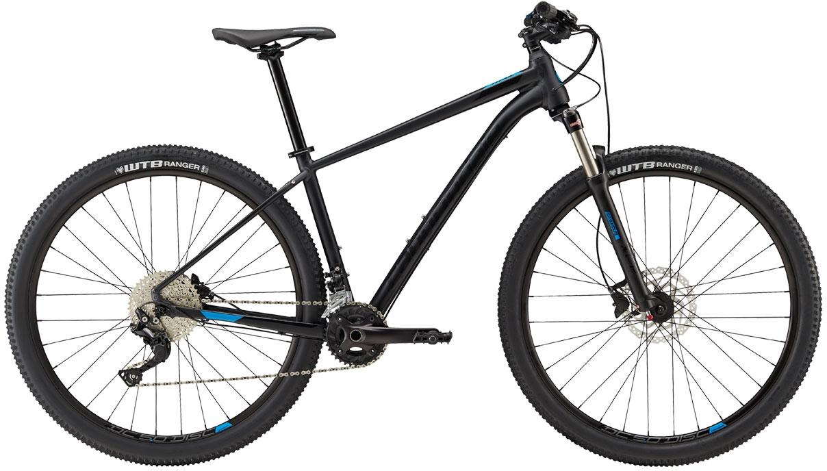 Cannondale Trail 5 - Matte Black w/ Gloss Black and Spectrum - Matte/Gloss (BLK) XL