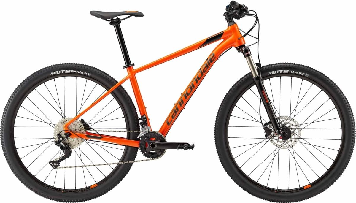 Cannondale Trail 5 - Hazard Orange w/ Jet Black and Anthracite - Gloss (ORG) XL