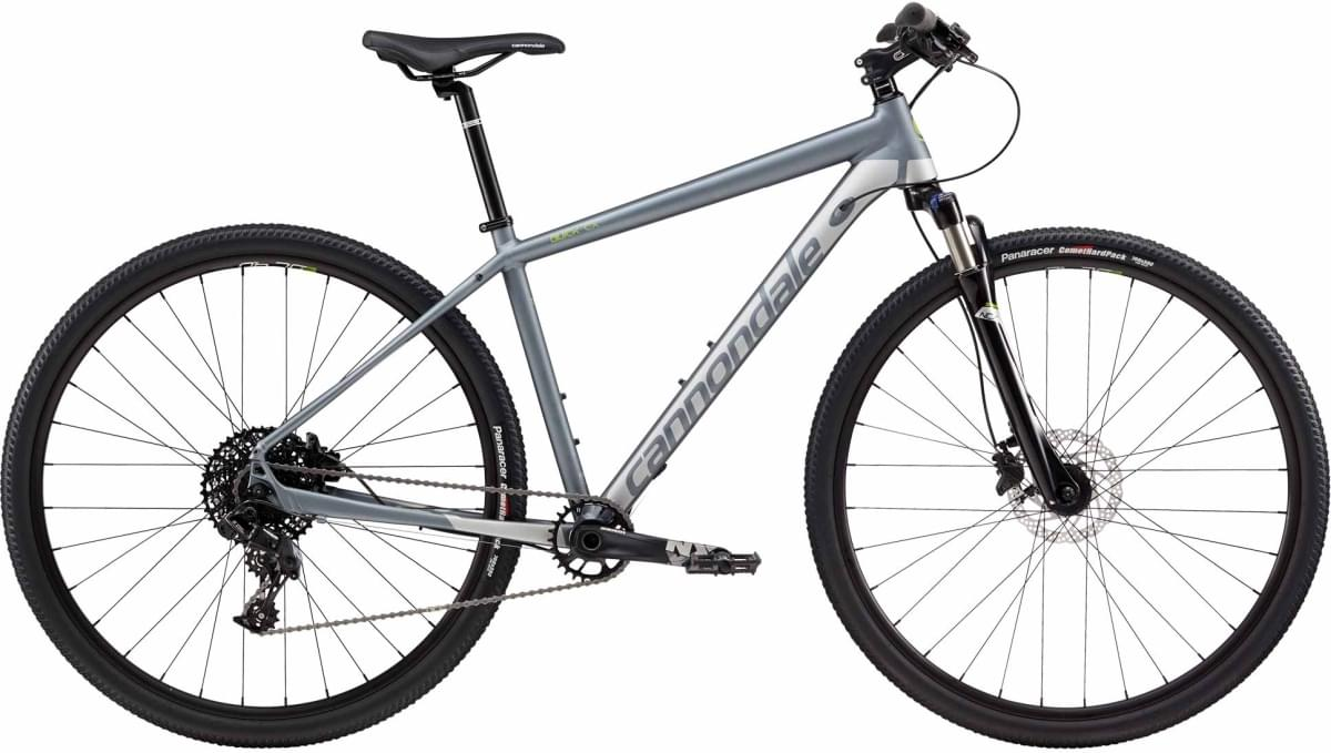 Cannondale Quick CX 2 - Charcoal Gray w/ Fine Silver, Acid Green - Gloss (GRY) L