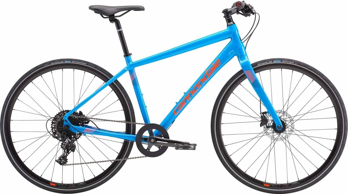 Cannondale Quick 2 Disc - Ultra Blue w / Jet Black, Acid Red, Reflective Detail - Gloss (BLU) M