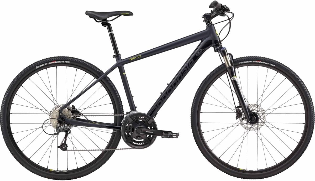 Cannondale Quick CX 3 - Midnight Blue w/ Gloss Jet Black and Neon Spring - Gloss / Matte (MDN) L