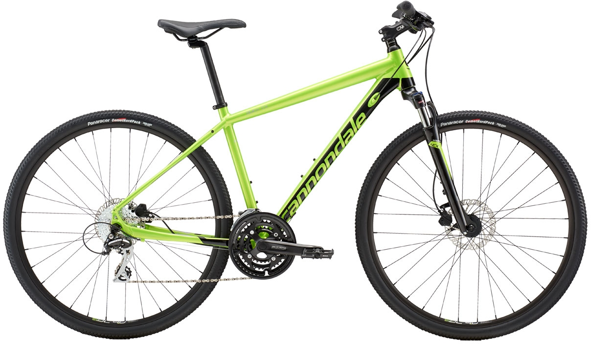 Cannondale Quick CX 4 - Acid Green w/ Jet Black and Fine Silver - Gloss (AGR) L