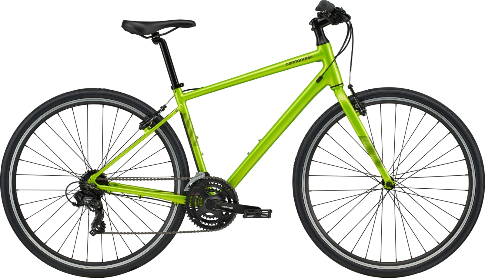 Cannondale Quick 6 - acid green M