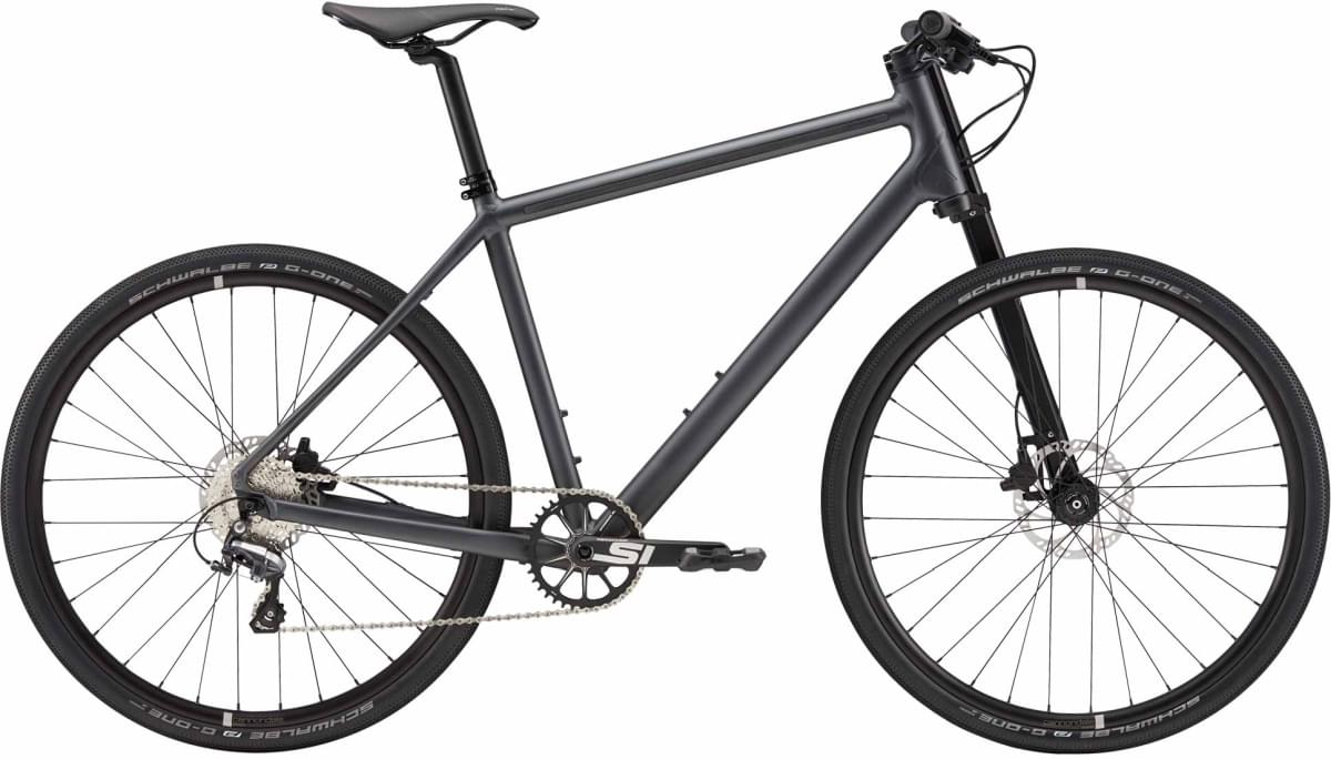 Cannondale Bad Boy 2 - Nearly Black w/ Charcoal Gray and 3M Reflective - Matte (BBQ) L