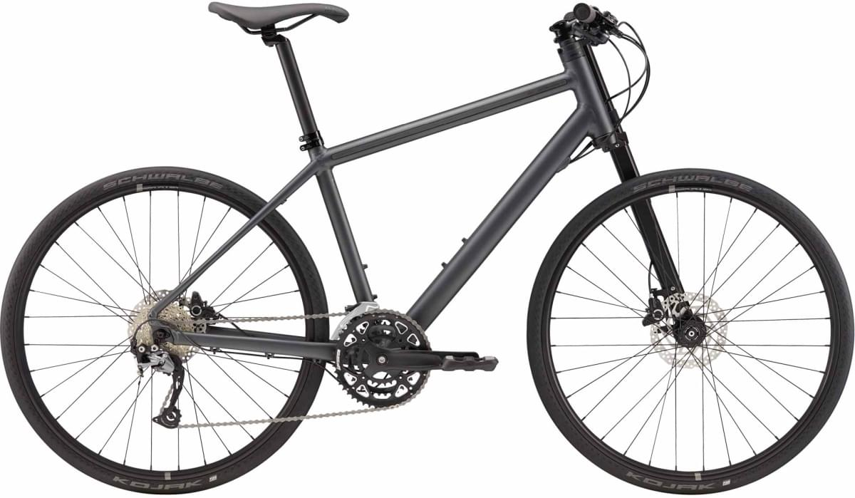 Cannondale Bad Boy 3 - Nearly Black w/ Charcoal Gray and Reflective - Matte (BBQ) M